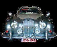 Jaguar MKII, 240-340 / Daimler V8 1959-'69