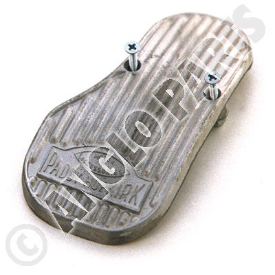 PEDAL, ALLOY BOLT ON ACCELERATOR PEDAL, -76 1