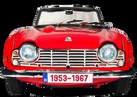 Triumph TR2-3-3A-4-4A 1953-1967