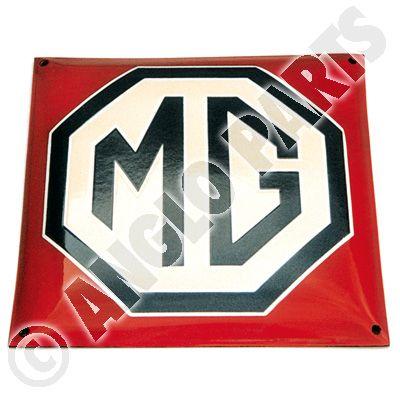 MG RED BEIGE ENAMEL 1