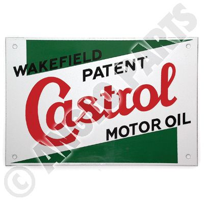 CASTROL ENAMEL SIGN 1