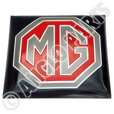 MG BLACK RED ENAMEL 1