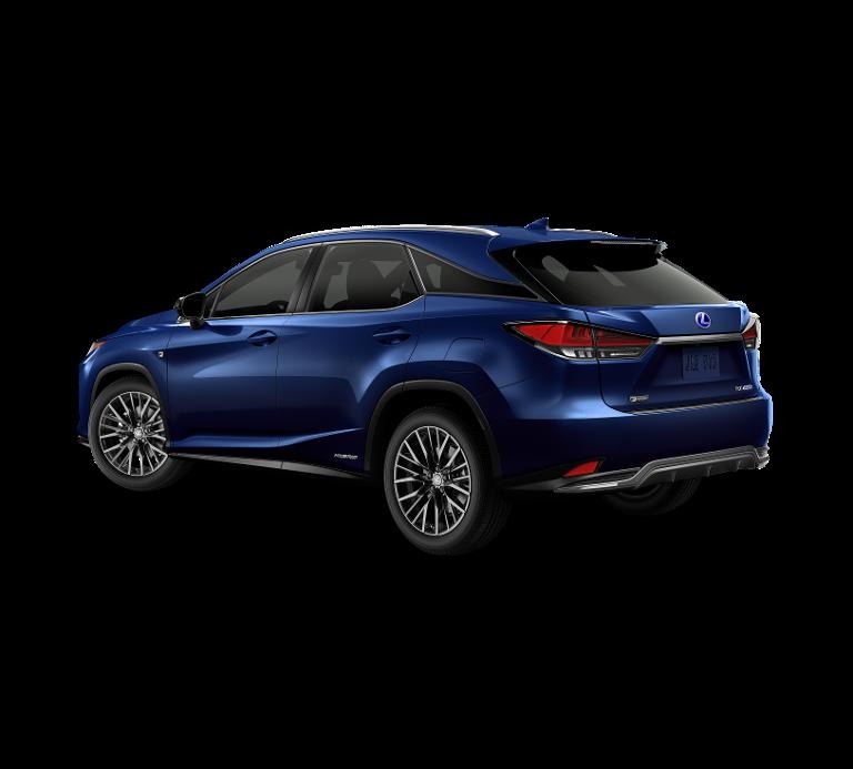Nieuw Lexus Rx SUV MWB 450h AWD E-CVT Black Line LHD 8X5 - Deep Blue 2