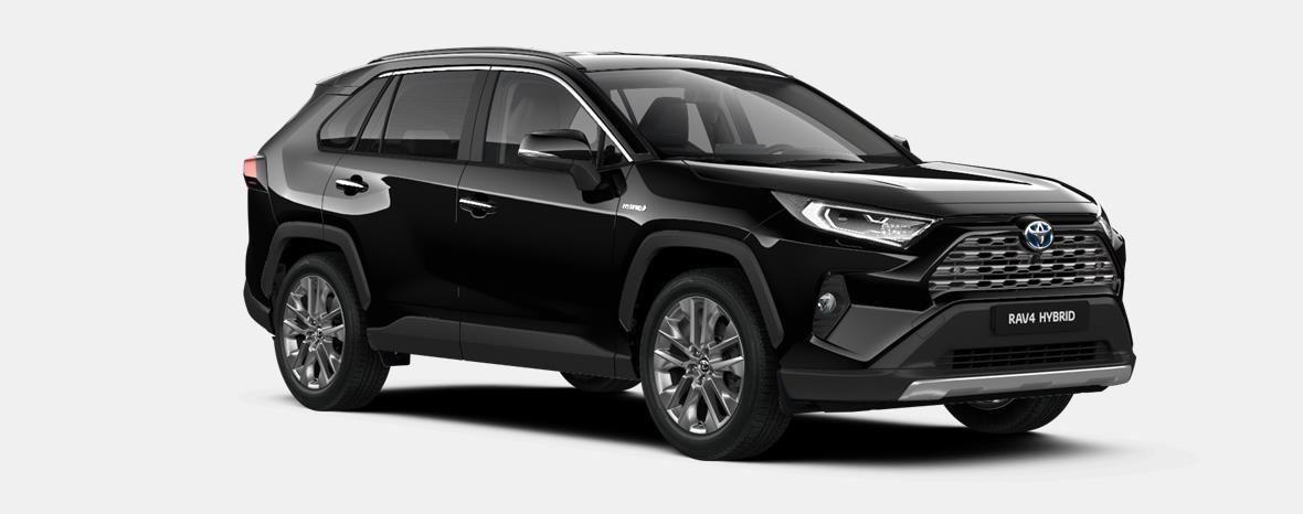 Nieuw Toyota Rav4 5 d. 2.5 Hybrid 2WD e-CVT Premium Plus L 218 - BLACK MICA 4
