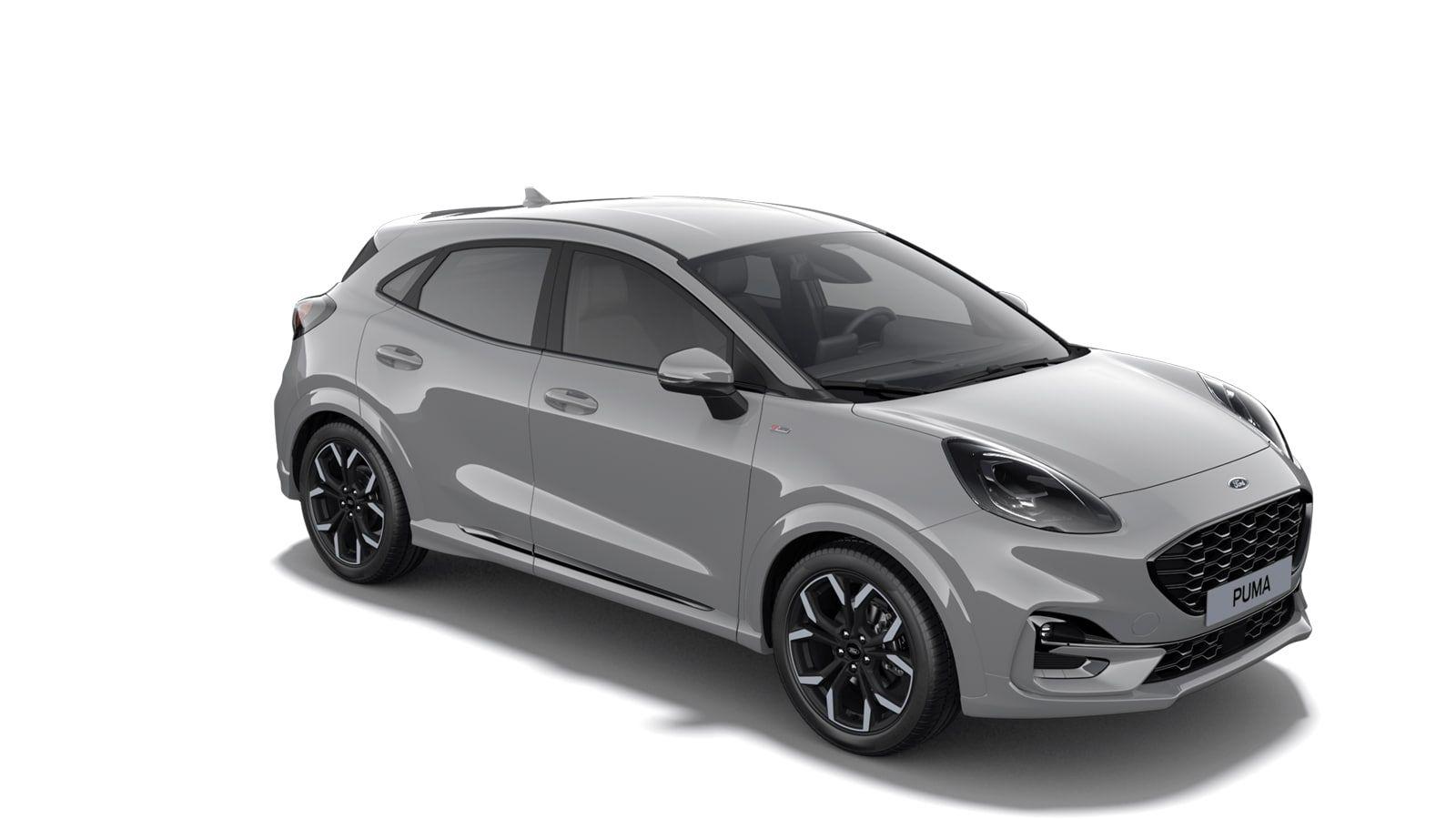 """Nieuw Ford Puma ST-Line X 1.0i EcoBoost mHEV 125ps / 92kW M6 2ZH - Speciale niet-metaalkleur """"Grey Matter"""" 4"""