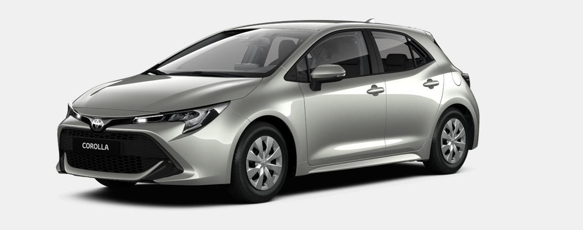 Nieuw Toyota Corolla hb & ts Hatchback 1.2 Turbo petrol 6 MT Dynamic 1J6 - PRECIOUS SILVER METALLIC 1
