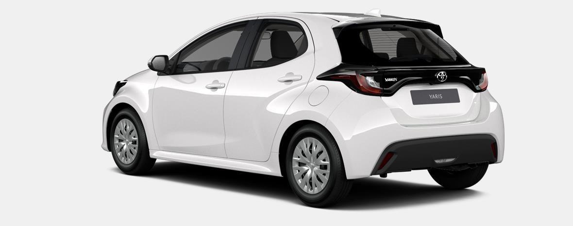 Nieuw Toyota Yaris 5 d. 1.5 Hybrid e-CVT Dynamic LHD 040 - SUPER WHITE II 2