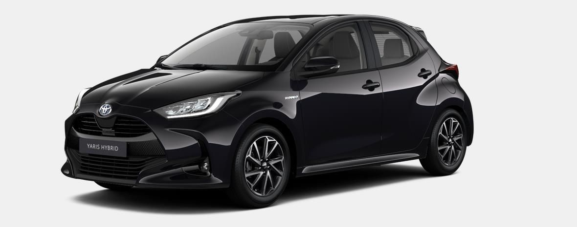 Nieuw Toyota Yaris 5 d. 1.5 Hybrid e-CVT Iconic LHD 209 - BLACK MICA 1