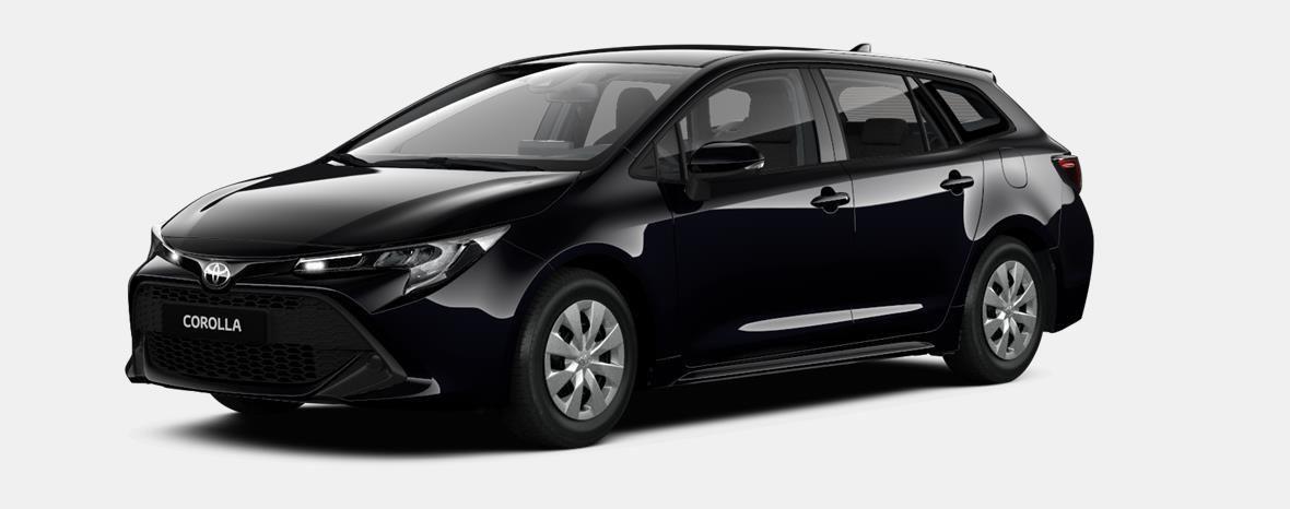 Nieuw Toyota Corolla hb & ts Touring Sports 1.8 e-CVT Hybrid CVT Prem 209 - BLACK MICA 1