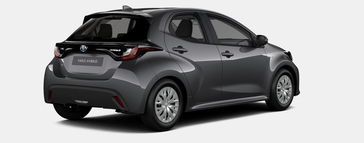 Nieuw Toyota Yaris 5 d. 1.5 Hybrid e-CVT Dynamic LHD 1G3 - DARK GREY METALLIC 4