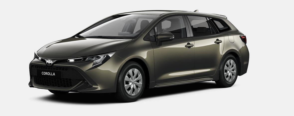Nieuw Toyota Corolla hb & ts Touring Sports 2.0 e-CVT Hybrid CVT Prem 6X1 - OXIDE BRONZE METALLIC 1