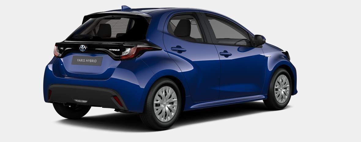 Nieuw Toyota Yaris 5 d. 1.5 Hybrid e-CVT Dynamic LHD 8W7 - COBALT BLUE METALLIC 4