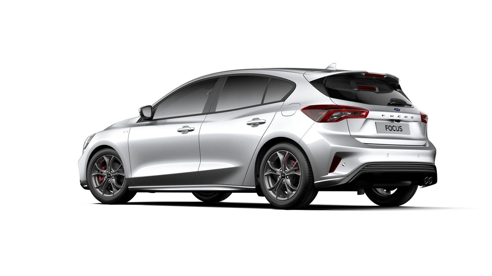 "Nieuw Ford Focus ST-Line X 1.0i EcoBoost 125pk / 92kW A8 - Clipper FCO - ""Moondust Silver"" Metaalkleur 3"
