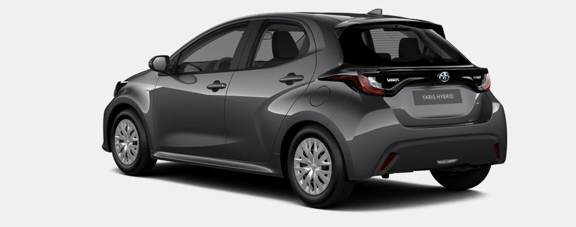 Nieuw Toyota Yaris 5 d. 1.5 Hybrid e-CVT Dynamic LHD 1G3 - DARK GREY METALLIC 2