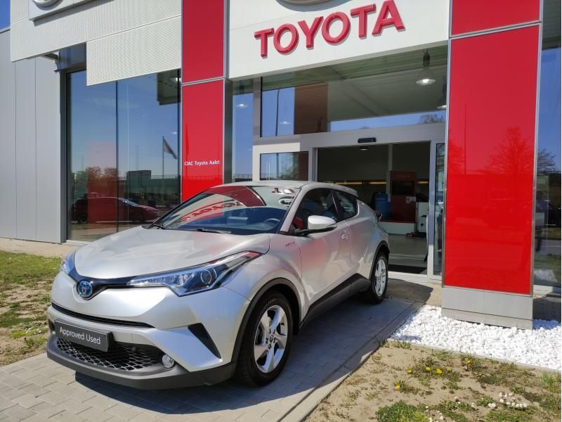 Occasie Toyota Toyota c-hr 5 d. 1.8 CVT HSD TC C-ENTER LHD 1F7 - ULTRA SILVER METALLIC 1