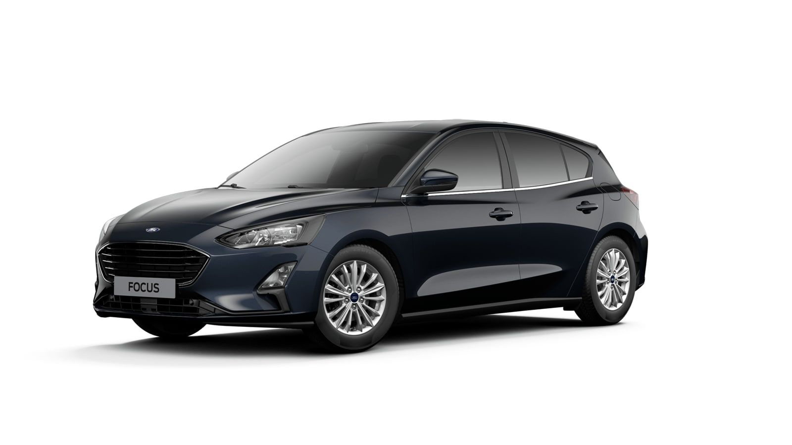 "Nieuw Ford Focus Tit X 1.0 EcoBoost 125pk A8 CL FCD - ""Panther Blue"" Exclusieve metaalkleur 1"