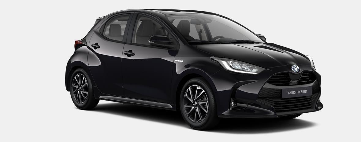 Nieuw Toyota Yaris 5 d. 1.5 Hybrid e-CVT Iconic LHD 209 - BLACK MICA 2