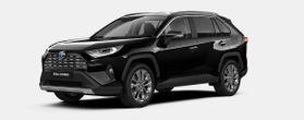 Nieuw Toyota Rav4 5 d. 2.5 Hybrid 2WD e-CVT Premium Plus L 218 - BLACK MICA