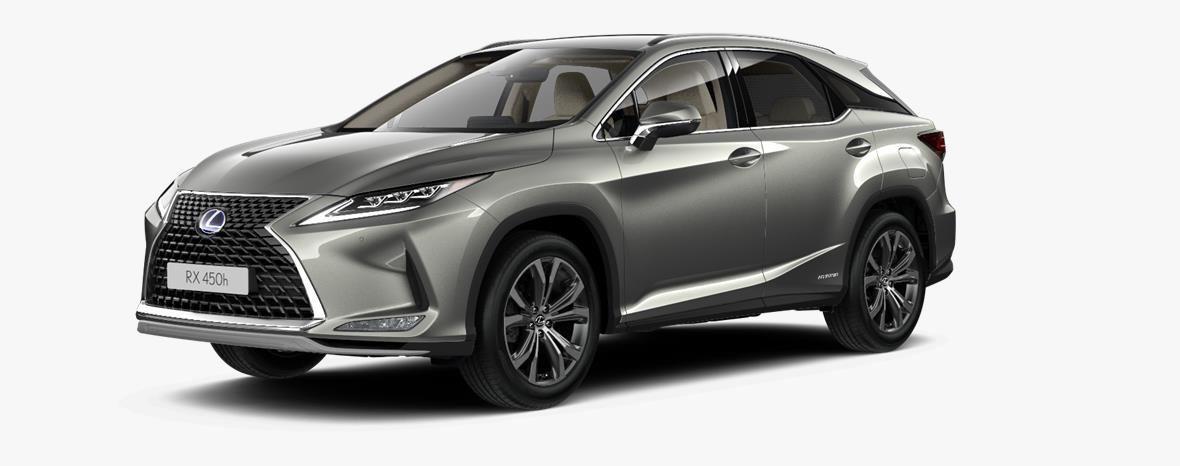 Demo Lexus Rx SUV MWB 450h AWD - E-CVT Executive Line 1J7 - Sonic Titanium 1