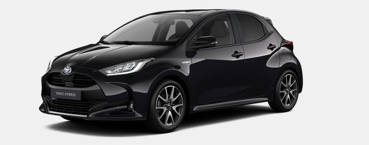 Nieuw Toyota Yaris 5 d. 1.5 Hybrid e-CVT Style LHD 209 - BLACK MICA 1
