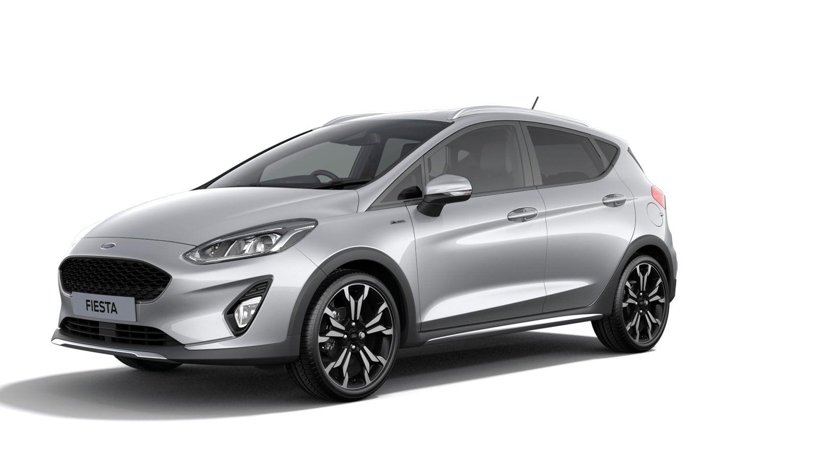 "Nieuw Ford All-new ford fiesta Active X 1.0i EcoBoost 125pk / 92kW A7 - 5d JK6 - Metaalkleur ""Moondust Silver"" 1"