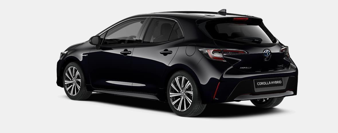 Nieuw Toyota Corolla hb & ts Hatchback 1.8 Hybrid CVT Dynamic LHD 209 - BLACK MICA 2