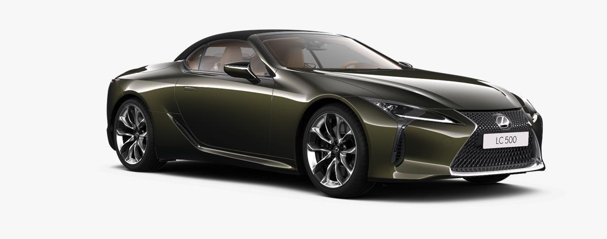 Demo Lexus Lc Convertible 5.0L petrol AT Base LHD 6X4 - Terrane Khaki 2