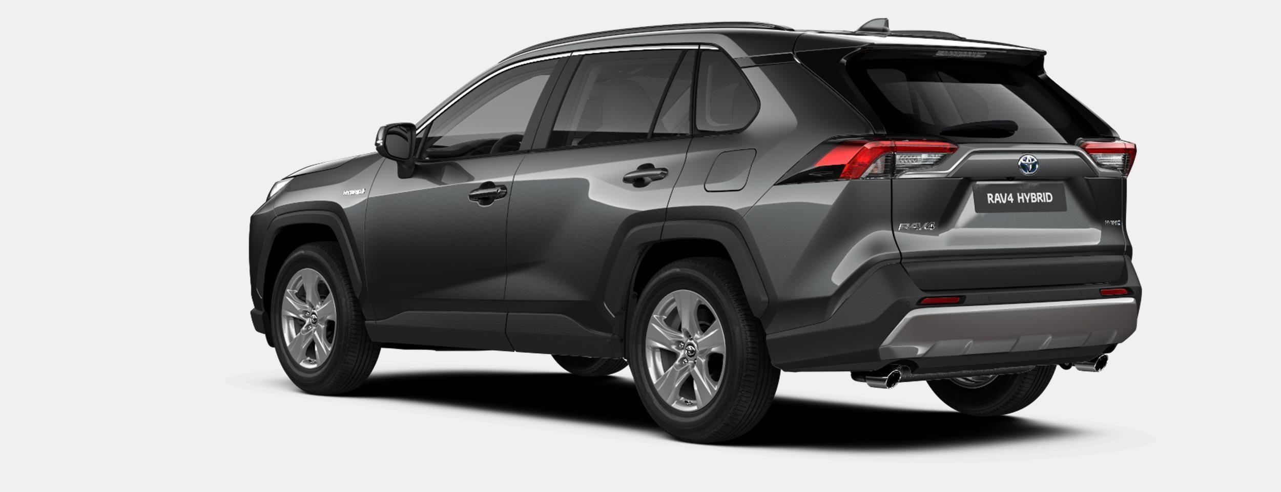 Nieuw Toyota Rav4 5 d. 2.5 Hybrid 2WD e-CVT Premium Plus L 1G3 - DARK GREY METALLIC 4