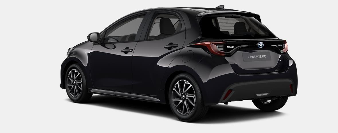 Nieuw Toyota Yaris 5 d. 1.5 Hybrid e-CVT Iconic LHD 209 - BLACK MICA 3