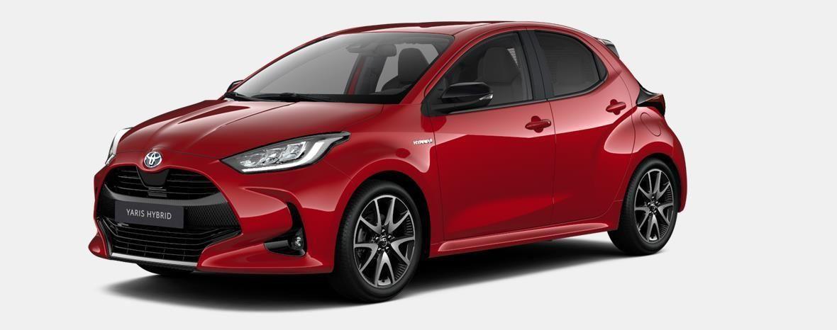 Nieuw Toyota Yaris 5 d. 1.5 Hybrid e-CVT Style LHD 3T3 - TOKYO RED MICA 1