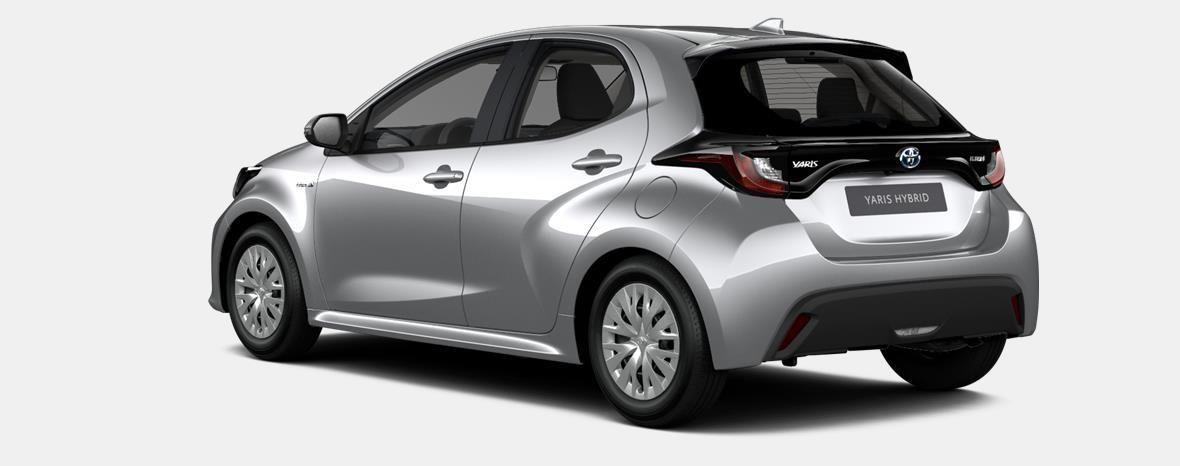 Nieuw Toyota Yaris 5 d. 1.5 Hybrid e-CVT Dynamic LHD 1F7 - ULTRA SILVER METALLIC 2