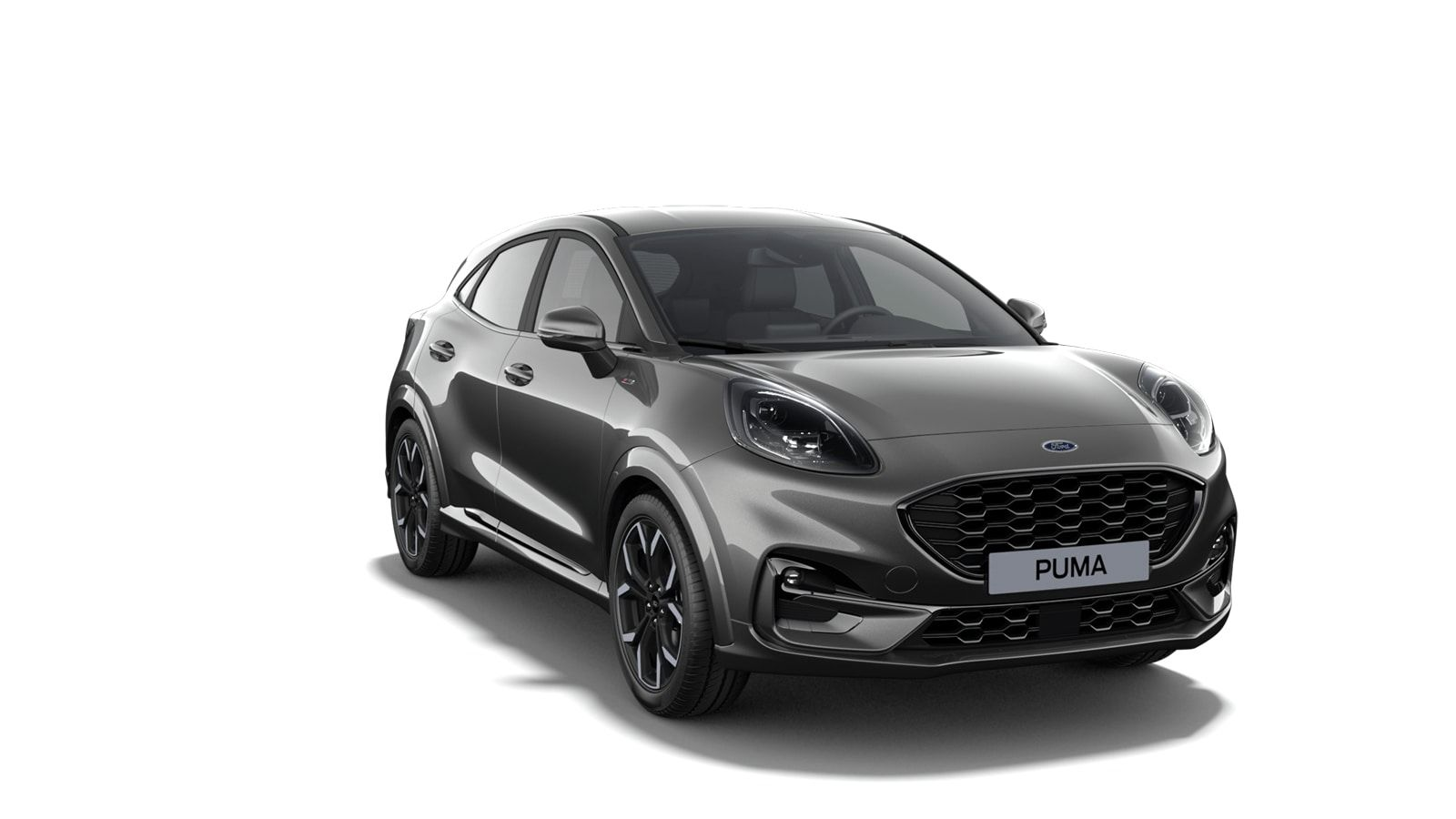 """Nieuw Ford Puma ST-Line X 1.0i EcoBoost mHEV 125ps 2ZQ - Metaalkleur """"Magnetic"""" 2"""