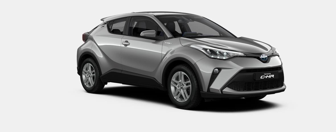 Nieuw Toyota Toyota c-hr 5 d. 1.8L Hybrid CVT C-ENTER LHD 1K0 - METAL STREAM 2