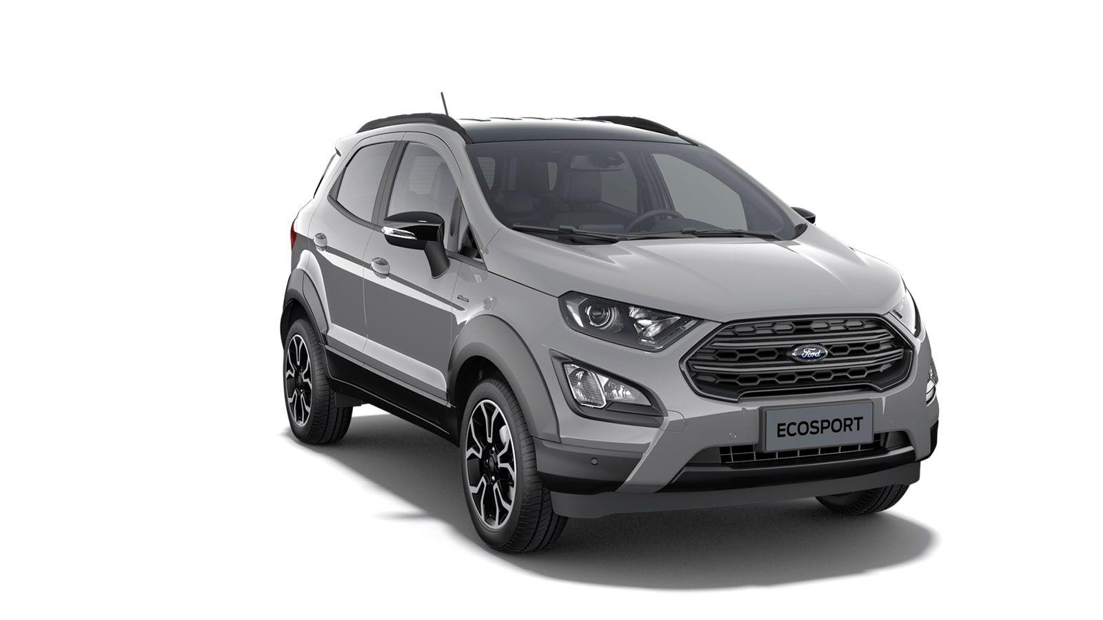 """New Ford New ecosport Active 1.0i EcoBoost 125pk / 92kW M6 - 5d 6GJ - Speciale niet-metaalkleur """"Grey Matter"""" 4"""