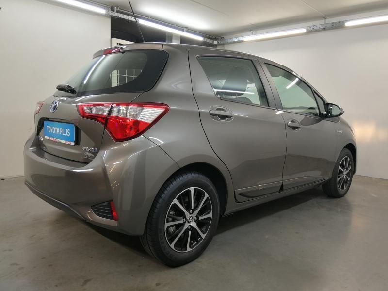 Demo Toyota Yaris 5 d. 1,5 Hybrid e-CVT Comfort & Pack Y-C 1G2 - PLATINIUM BRONZE METALLIC 9