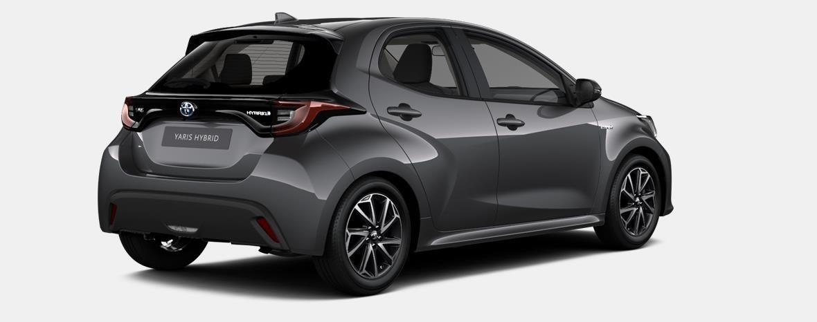 Demo Toyota Yaris 5 d. 1,5 Hybrid e-CVT Comfort & Pack Y-C 1G3 - DARK GREY METALLIC 3
