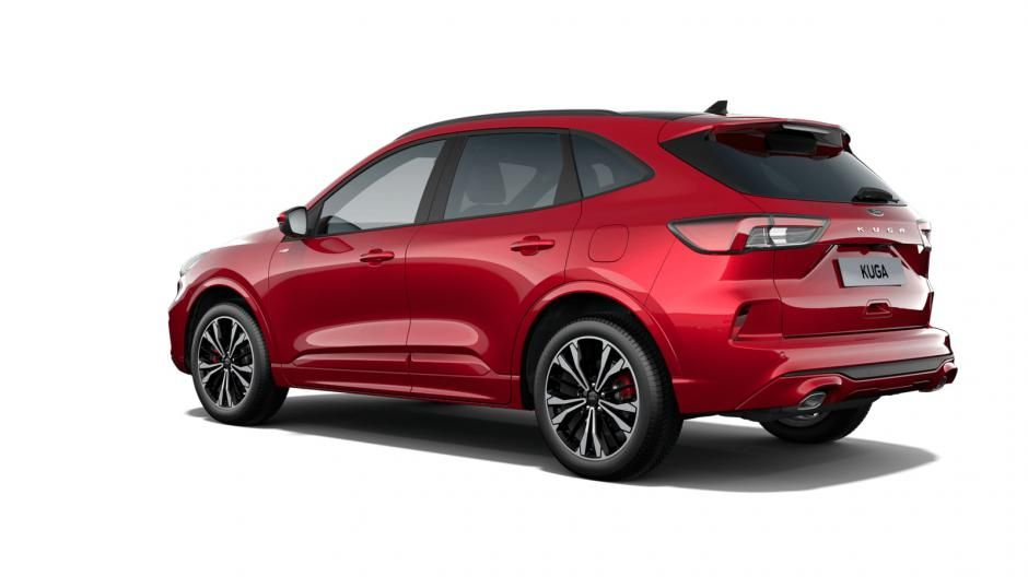 """Nieuw Ford All-new kuga ST-Line X 2.5i PHEV 225pk/165kW - HF45 Auto NYE - """"Lucid Red"""" Exclusieve metaalkleur 3"""