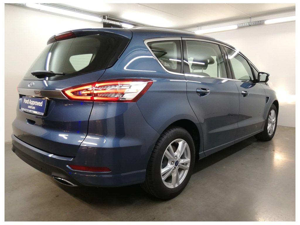 "Demo Ford S-max Titanium 2.0 TDCi 190pk / 139kW A8 5d 9IG - ""Chrome Blue"" metaalkleur 10"