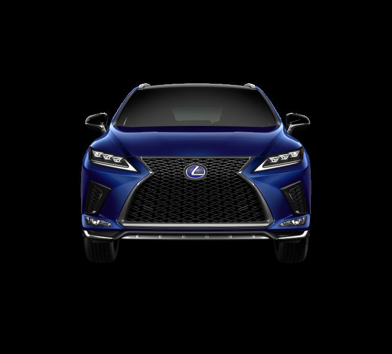 Nieuw Lexus Rx SUV MWB 450h AWD E-CVT Black Line LHD 8X5 - Deep Blue 4