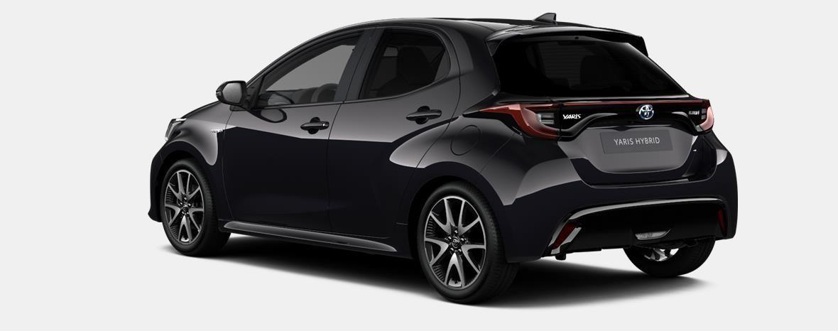 Nieuw Toyota Yaris 5 d. 1.5 Hybrid e-CVT Style LHD 209 - BLACK MICA 2