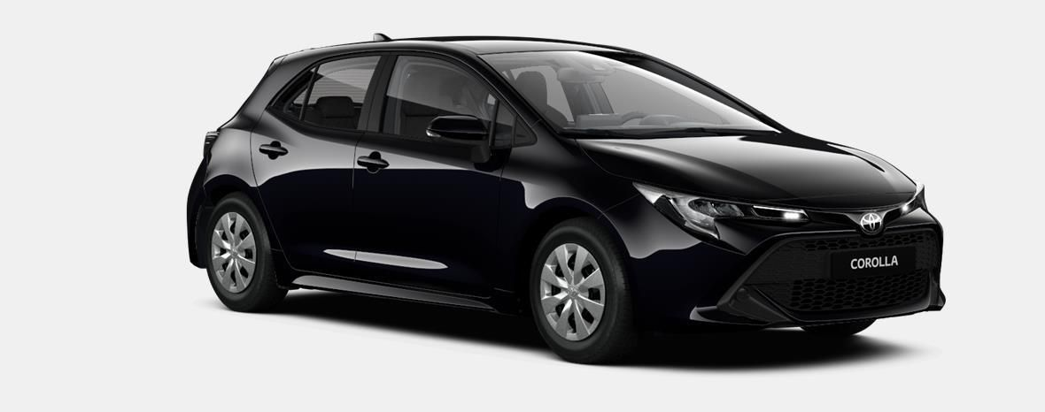 Nieuw Toyota Corolla hb & ts Hatchback 1.2 Turbo petrol 6 MT Dynamic 209 - BLACK MICA 2