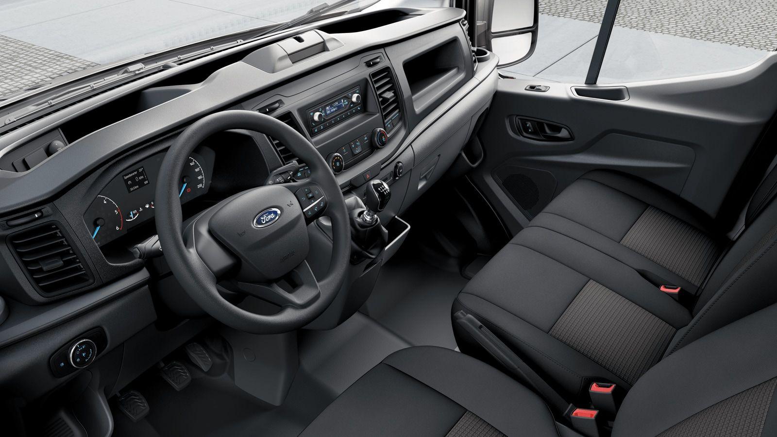Nieuw Ford Transit 2t mca 350L Minibus L3 Trend mHEVM6 2.0 TD 130 pk M1 Euro 6.2 AXW - niet-metaalkleur: Frozen White 5
