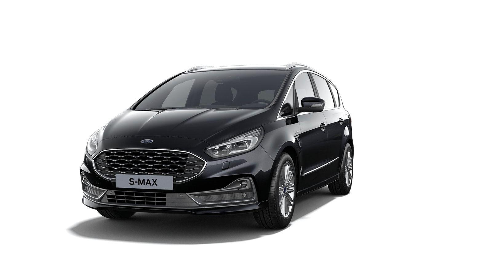 "Nieuw Ford S-max Vignale 2.0 TDCi 190pk / 139kW Auto-Start-Stop A8 - 5d 9I6 - ""Agate Black Vignale"" metaalkleur 1"