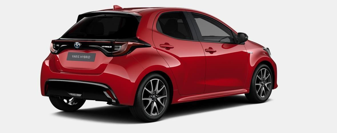 Nieuw Toyota Yaris 5 d. 1.5 Hybrid e-CVT Style LHD 3T3 - TOKYO RED MICA 3