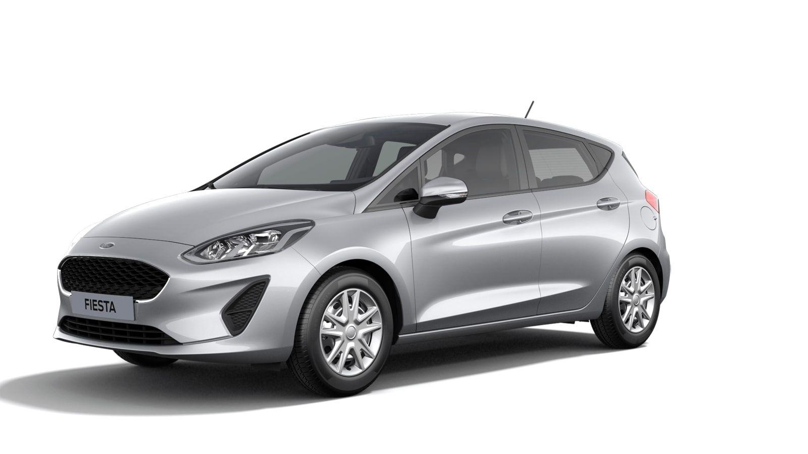 "Nieuw Ford All-new ford fiesta Connected 1.0i EcoBoost 95pk / 70kW M6 - 5d JK6 - Metaalkleur ""Moondust Silver"" 1"