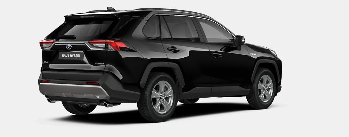 Nieuw Toyota Rav4 5 d. 2.5 Hybrid 2WD e-CVT Dynamic Plus L 218 - BLACK MICA 3