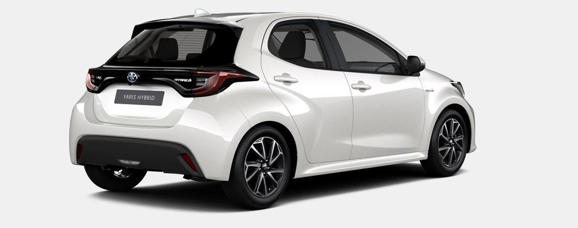 Nieuw Toyota Yaris 5 d. 1.5 VVT-iE 6MT Iconic LHD 089 - WHITE PEARL MC 3