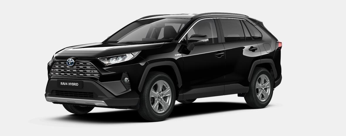 Nieuw Toyota Rav4 5 d. 2.5 Hybrid 2WD e-CVT Dynamic Plus L 218 - BLACK MICA 1