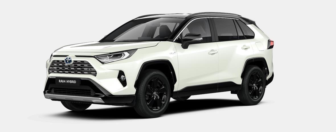 Nieuw Toyota Rav4 5 d. 2.5 Hybrid 2WD e-CVT Style Plus LHD 2QJ - WHITE PEARL / BI-TONE 1