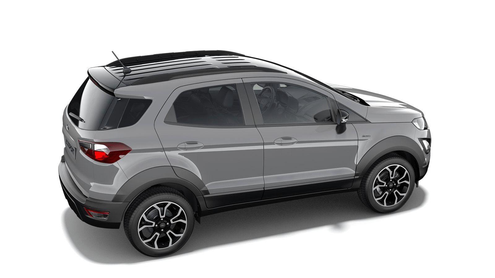 """New Ford New ecosport Active 1.0i EcoBoost 125pk / 92kW M6 - 5d 6GJ - Speciale niet-metaalkleur """"Grey Matter"""" 3"""